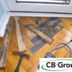 Fugt i gulv - CB Group.dk