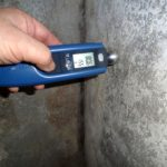 Fugt måling i kælder