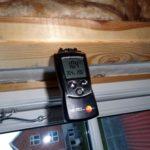 Fugt måling i trævæg