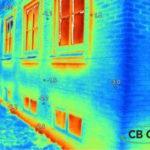 Facade termografi af bolig