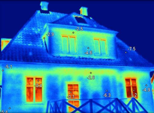 Udvendig bolig termografi